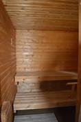 Lähes uuden veroinen sauna