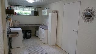 tilava kodinhoitohuone, tilaa myös kuivaurummulle