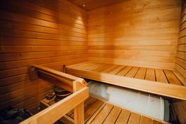 Sauna uusittu 2007
