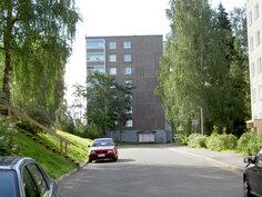 näkymä talosta Kulottajantieltä kuvattuna