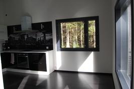 Avokeittiön ikkuna