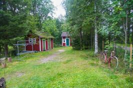 Puuliiteri ja sauna