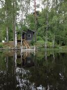 Sauna veneestä katsottuna
