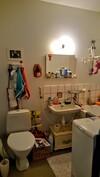 Kylpyhuone/wc jossa kylpyamme ja pesukone