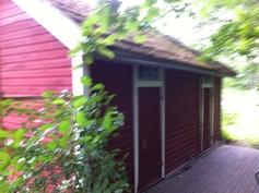 Varasto/sauna/puusee rakennus