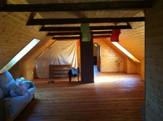 olohuone, 2 kerros 75 m2