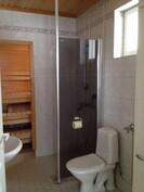 Sauna, suihku ja WC