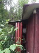 Varastorakennuksen laajennusosan kosteus- ja lahovaurio