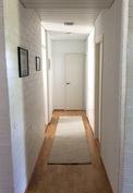 Makuuhuoneiden käytävä