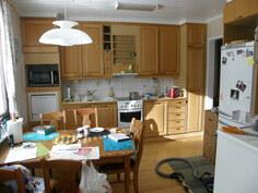 keittiö siivous kesken