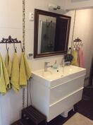 Kylpyhuone, kahden hanan lavuaari