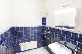Hyväkuntoinen kylpyhuone