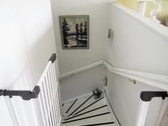 Portaat yläkerrasta alakertaan