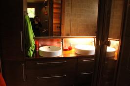 Kylpyhuone, uusittu 2008