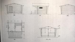 Saunarakennuksen piirrustukset