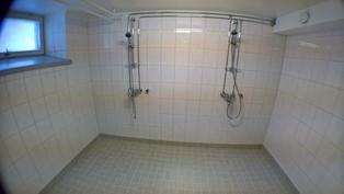 Saunaosaston suihkut