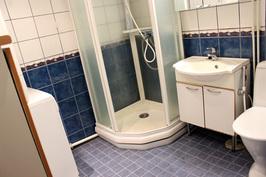 Kylpyhuone, tila pesukoneelle ja kuivausrummulle