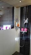 Moderni kylpyhuone, 2014 remontoitu