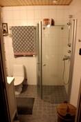 Alakerran tilava WC ja suihku