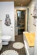 Seinä-wc ja pyyhekuivauspatteri