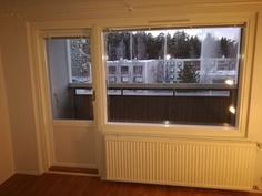 Uudet ikkunat ja parvekeovi