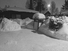 talvimaisemaa Haukilenkiltä