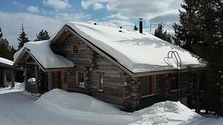 Päärakennus julkisivu talvi