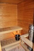 Tilava sauna/Rymlig bastu