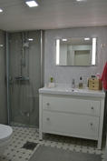 Vessa / kylpyhuone, Seinä WC