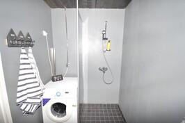 Kylpyhuoneen seinät mikrosementtiä