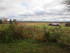 Näkymä peltoaukeaman yli