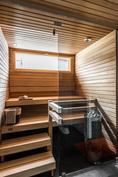 Perushintaan sisältyvä sauna