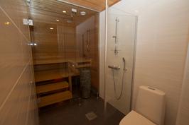 Lähtötason sauna