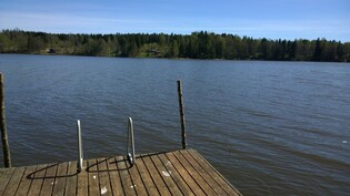 Laiturilta järvelle