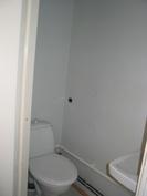 Kellarikerroksen yksiön WC