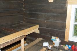 Sauna sisältä