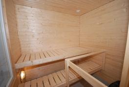Huoneiston sauna