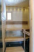 Raikas sauna  (kuva valmistunut kohde)