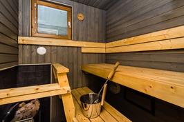 Sauna on uusittu v.2013