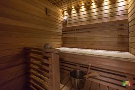 Uusittu sauna