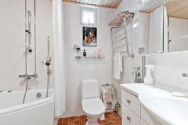 Kylpyhuone jossa poreamme