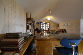 Yläkerrassa on n. 30 m²
