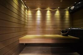 Vuonna 2010 rakennettu sauna