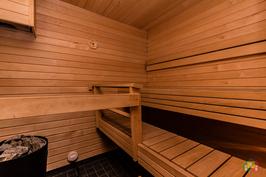 Siistikuntoinen saunatila