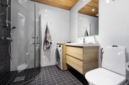 Pesutilat on uusittu täysin v. 2013