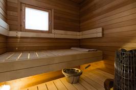 Sauna uudistettu pesuhuoneremontin yhteydessä