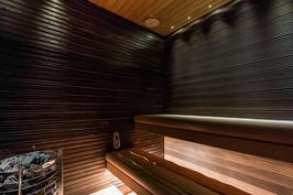 Viihtyisä saunatila