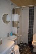 Laajennusosan wc