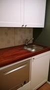 toimiva keittiö jossa astianpesukone