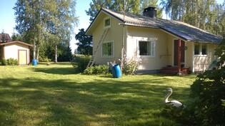 Talo pihatieltä